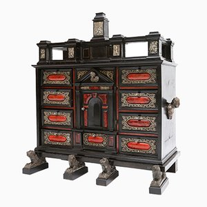 Antique Belgian Antwerp Cabinet
