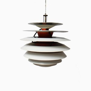 Danish pH Kontrast Pendant Lamp by Poul Henningsen for Louis Poulsen, 1960s