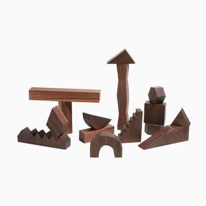 Sculptural Building Blocks de Noah Spencer para Fort Makers
