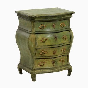 Antique Scandinavian Rococo Style Chest