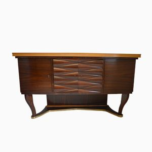 Italian Rosewood Sideboard from Dassi, 1950s