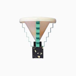 Lámpara de mesa Glastonbury italiana de George J. Sowden, 1984