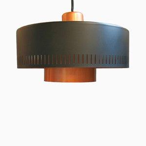 Lámpara colgante Metro vintage de Jo Hammerborg para Fog & Mørup