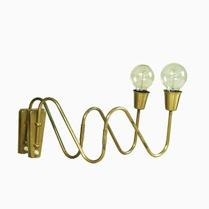 Swing Arm Wall Lights by Bent Karlby for Lyfa, 1950s, Set of 2