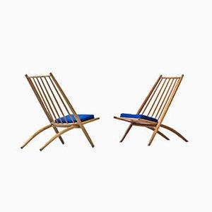 Congo Easy Chairs by Ilmari Tapiovaara for Hagafors, 1950s, Set of 2