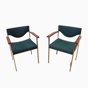 Schweizer Stühle von Horgen Glarus, 1970, 2er Set
