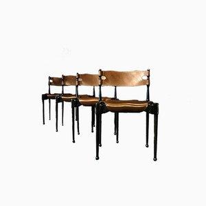 Deutsche Montréal Stühle von Frei Otto für Carl Frösche & Co, 1967, 4er Set