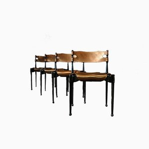 German Montréal Chairs by Frei Otto for Carl Frösche & Co, 1967, Set of 4