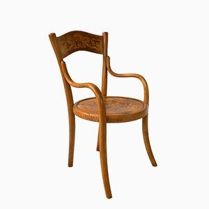 French Children's Chair from Baumann, 1914