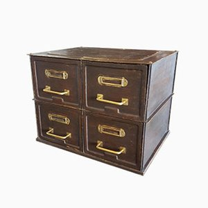 French Copper and Iron Chest of Drawers from Strafor