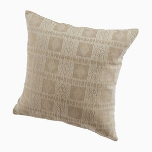 Katsina Decorative Pillow in Camel by Nzuri Textiles