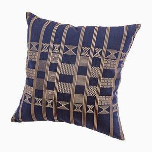 Cojín decorativo Minna en azul índigo de Nzuri Textiles