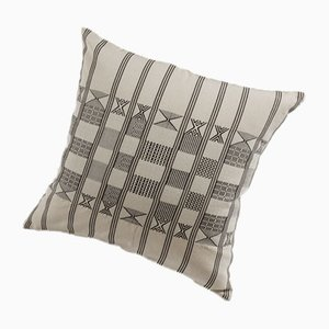 Minna Decorative Cushion in Natural White by Nzuri Textiles