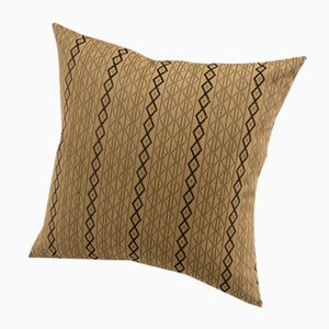 Mbake Decorative Cushion in Camel by Nzuri Textiles