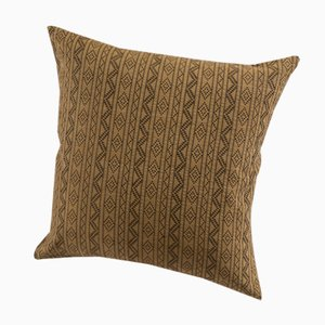 Samburu Decorative Cushion in Camel by Nzuri Textiles