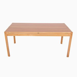Vintage Extendible Cherry Coffee Table by Rud Thygesen & Johnny Sørensen
