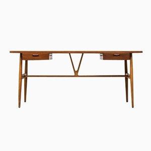 JH 563 Wishbone Desk by Hans J. Wegner for Johannes Hansen