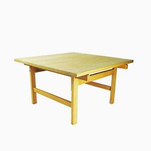 Tavolino da caffè in quercia di Hans J. Wegner per PP Møbler, Danimarca