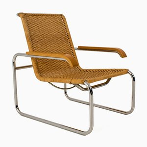 B 35 Lounge Chair by Marcel Breuer for Thonet, 1970s