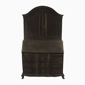 Antique Swedish Rococo Secretary