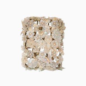 Aplique grande de cristal de Murano de Barovier & Toso, años 40