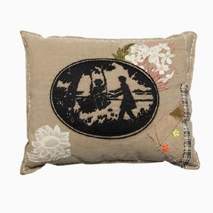 Coussin Midnight in the Garden par Bokja
