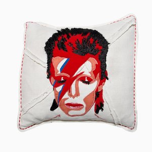Ziggy Stardust Cushion by Bokja