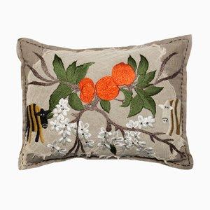 Orangenblüte Kissen von Bokja
