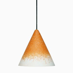 Gesso Lamp Ochre & White by Jonas Edvard