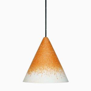 Lámpara Gesso en ocre y blanco de Jonas Edvard