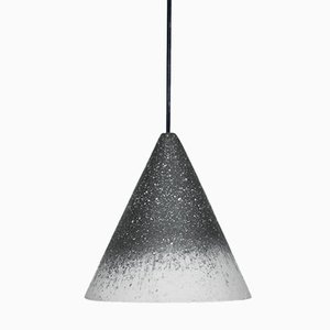 Gesso Lamp in Anthracite & White by Jonas Edvard
