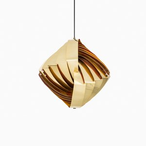 Lámpara de techo Konkylie de Louis Weisdorf para Lyfa, años 50