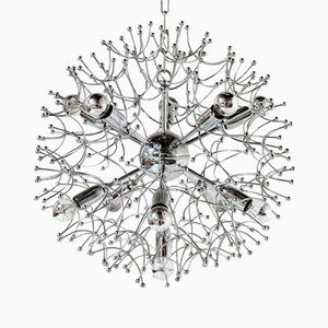 Chrome Sputnik Chandelier by Gaetano Sciolari, 1960s