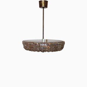 Lampe à Suspension Vintage en Verre par Fagerlund pour Orrefors