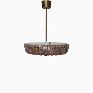 Vintage Glass Pendant Lamp by Carl Fagerlund for Orrefors
