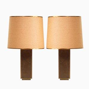 Spanische Tischlampen von Rodolfo Dubarry, 1970er, 2er Set