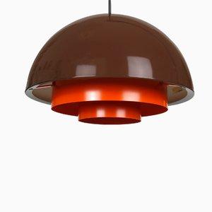Milieu Mini Pendant Lamp by Jo Hammerborg for Fog & Mørup, 1970s