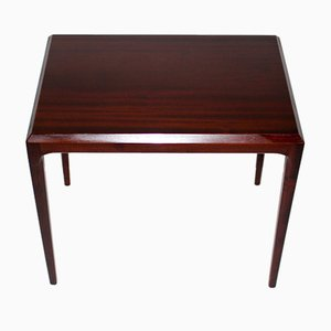 Danish Rosewood Side Table by Johannes Andersen, 1960s