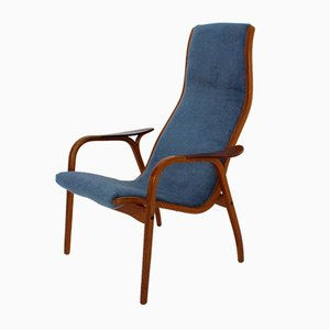 Swedish Lamino Armchair by Yngve Ekström for Swedese, 1950s
