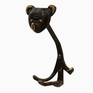 Viennese Bear Wall Hook by Walter Bosse for Hertha Baller, 1955