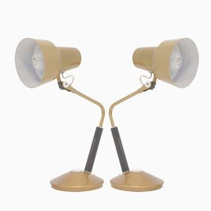 Norwegian Luxo L-11 Table Lamps from Jac Jacobsen, 1950s, Set of 2