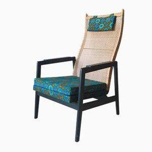 Mid-Century Dutch Lounge Chair by P. Muntendam for Gebr. Jonkers