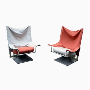AEO Armchairs by Paolo Deganello for Cassina, 1973, Set of 2