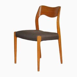 Chaise de Salon No. 71 en Teck par Niels Otto Moller, Danemark, 1960s