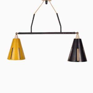Lampe à Suspension par Busquet H. Th. J. A. pour Hala, Pays-Bas, 1950s