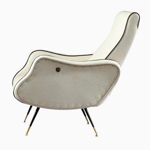Verstellbarer Italienischer Sessel, 1950