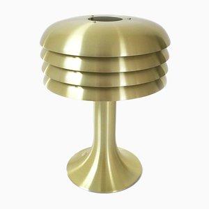 Lampada da scrivania in ottone di Hans-Agne Jakobsson per AB Markaryd, anni '60