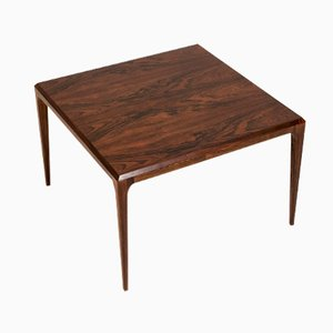 Table Basse en Palissandre par Johannes Andersen pour Silkeborg, Danemark, 1960s