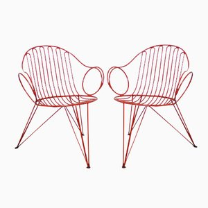 German Garden Chairs from Mauser Werke, 1950s, Set of 2