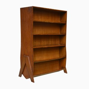 Indian Double Sided Bookcase by Pierre Jeanneret, 1958